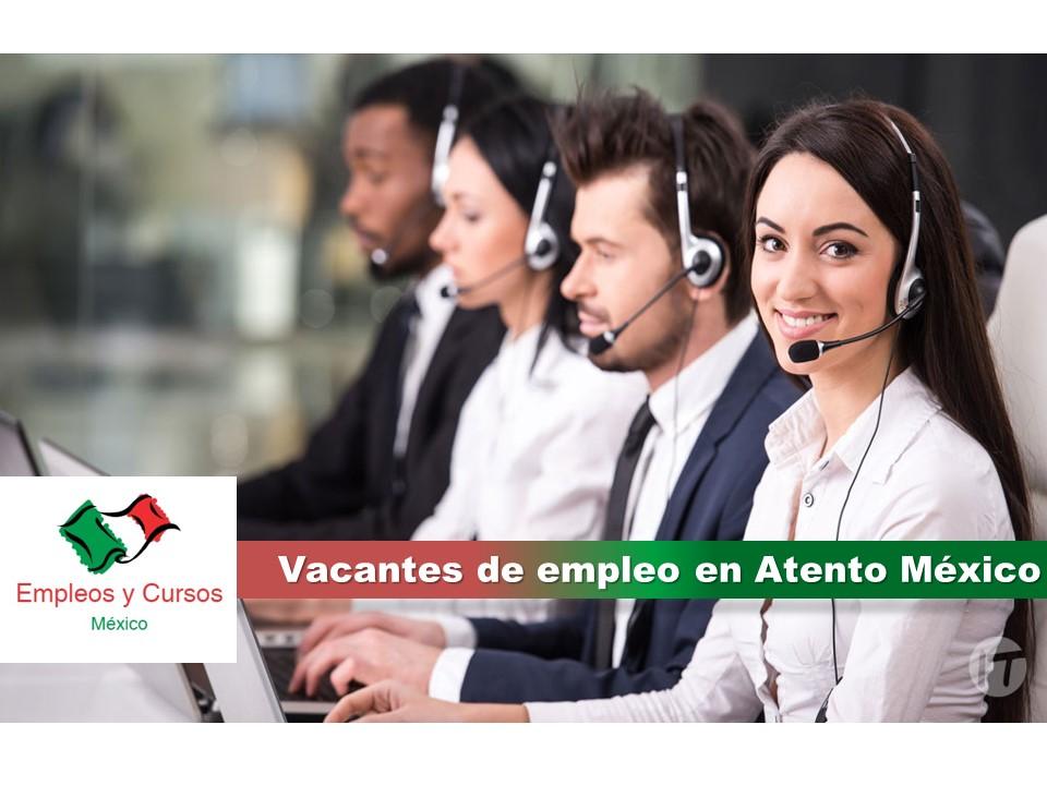 Vacantes de empleo en Atento México