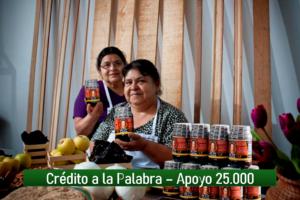 [Crédito a la Palabra en México] Apoyo de 25.000 Pesos