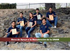 Beca de Apoyo a la Manutención de la UNAM