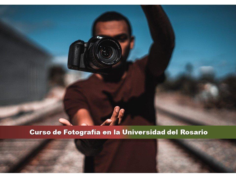 Curso de Fotografía en la Universidad del Rosario